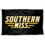 Southern Miss Wordmark Logo Flag
