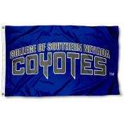 Southern Nevada Coyotes Wordmark Flag
