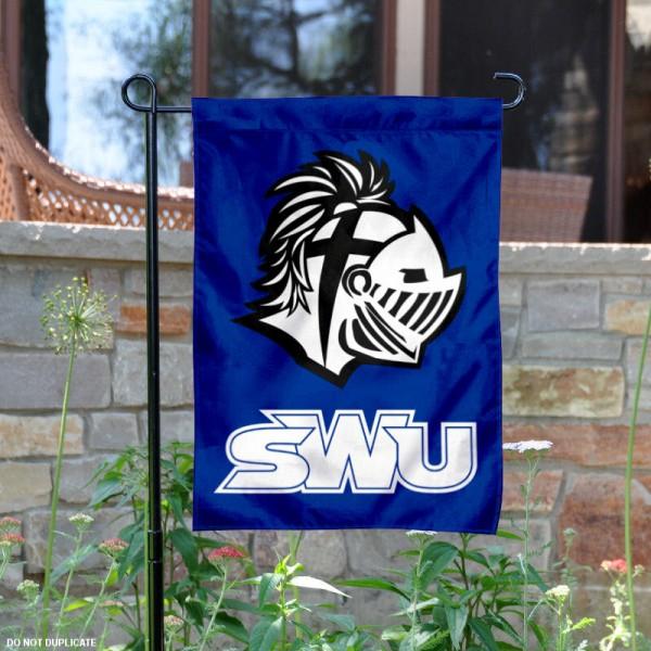 Southern Wesleyan University Garden Flag