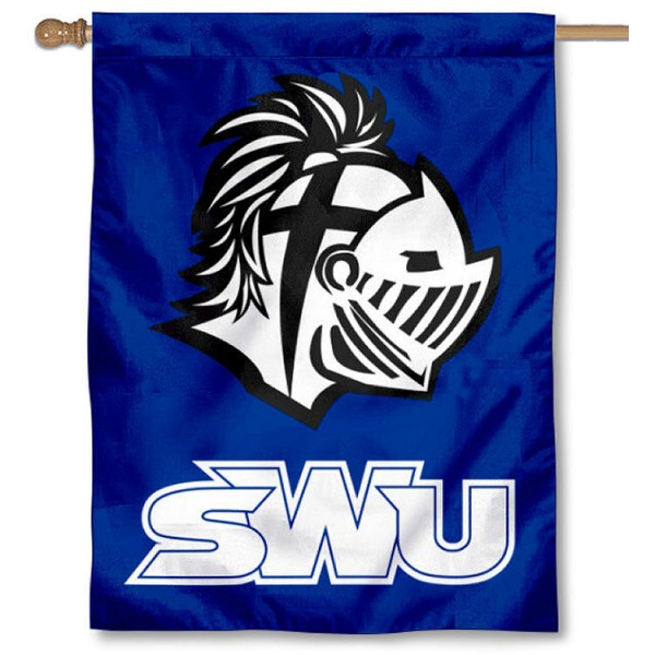 Southern Wesleyan Warriors House Flag is a vertical house flag which measures 30x40 inches, is made of 2 ply 100% polyester, offers screen printed NCAA team insignias, and has a top pole sleeve to hang vertically. Our Southern Wesleyan Warriors House Flag is officially licensed by the selected university and the NCAA.