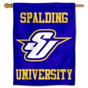 Spalding Golden Eagles Logo Double Sided House Flag