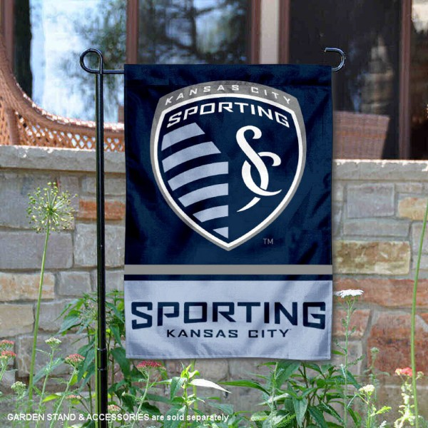 Sporting Kansas City Garden Flag is 12.5x18 inches in size, is made of 2-ply polyester, and has two sided screen printed logos and lettering. Available with Express Next Day Shipping, our Sporting Kansas City Garden Flag is MLS Genuine Merchandise and is double sided.