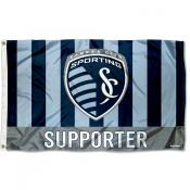 Sporting Kansas City Supporter 3x5 Foot Logo Flag