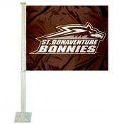 St. Bona Bonnies Logo Car Flag