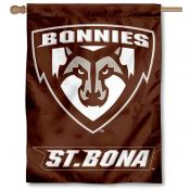St. Bonaventure Bonnies Double Sided House Flag