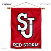 St. John's Red Storm Wall Banner