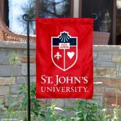 St. John's Wordmark Logo Garden Flag