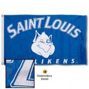 St. Louis Billikens Nylon Embroidered Flag