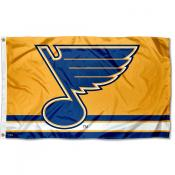 St. Louis Blues Gold Flag