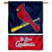St. Louis Cardinals Double Sided House Flag