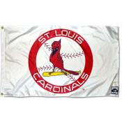 St. Louis Cardinals Vintage Flag