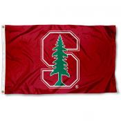 Stanford Cardinal Block S Flag