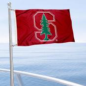 Stanford Cardinal Boat and Mini Flag