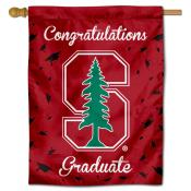 Stanford Cardinal Congratulations Graduate Flag