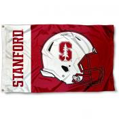 Stanford Cardinal Football Flag
