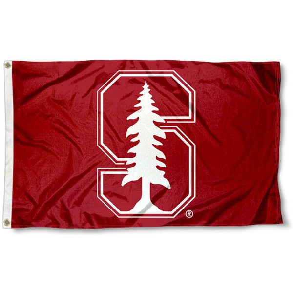 Stanford Cardinal White S Flag measures 3x5 feet, is made of 100% polyester, offers quadruple stitched flyends, has two metal grommets, and offers screen printed NCAA team logos and insignias. Our Stanford Cardinal White S Flag is officially licensed by the selected university and NCAA.