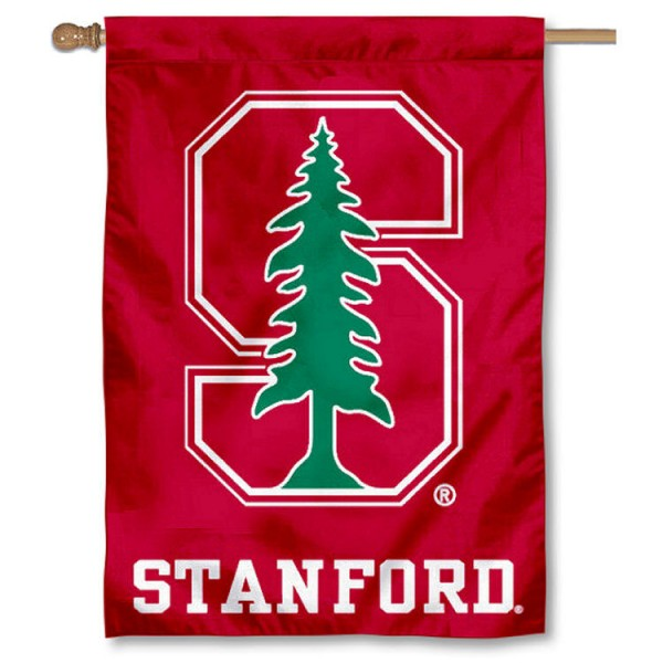 Stanford University Double Sided Banner is a vertical house flag which measures 28x40 inches, is made of 2 ply 100% nylon, offers screen printed NCAA team insignias, and has a top pole sleeve to hang vertically. Our Stanford University Double Sided Banner is officially licensed by the selected university and the NCAA.