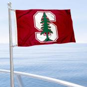 Stanford University Golf Cart Flag