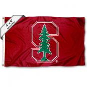 Stanford University Large 4x6 Flag