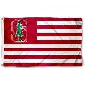 Stanford University Striped Flag