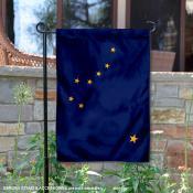 State of Alaska Garden Flag