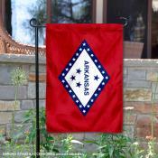 State of Arkansas Garden Flag