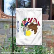 State of Illinois Garden Flag