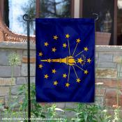 State of Indiana Garden Flag