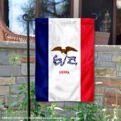 State of Iowa Garden Flag