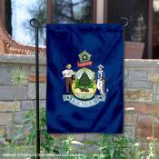 State of Maine Garden Flag