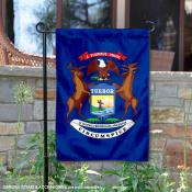 State of Michigan Garden Flag