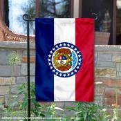 State of Missouri Garden Flag