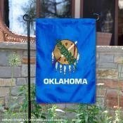 State of Oklahoma Garden Flag