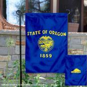 State of Oregon Garden Flag