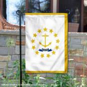 State of Rhode Island Garden Flag