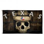 State of Texas Skull Flag