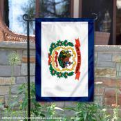 State of West Virginia Garden Flag