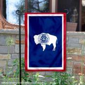 State of Wyoming Garden Flag
