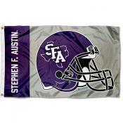 Stephen F. Austin Lumberjacks Football Helmet Flag