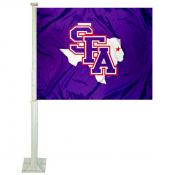Stephen F. Austin University Car Window Flag
