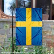 Sweden Double Sided Garden Flag