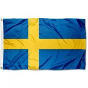 Sweden Flag 3x5 Printed Flag