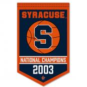 Syracuse Orange Basketball National Champions Banner