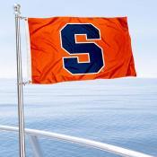 Syracuse Orange Boat and Mini Flag