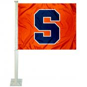 Syracuse Orange Car Window Flag