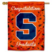 Syracuse Orange Congratulations Graduate Flag