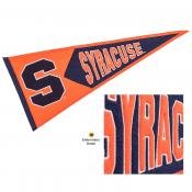 Syracuse Orange Genuine Wool Pennant