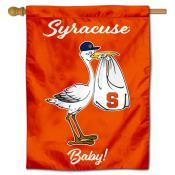Syracuse Orange New Baby Flag