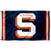 Syracuse Orange Throwback Vault Logo Flag