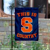 Syracuse University Country Garden Flag